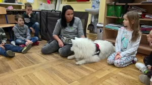 2017.11.03 - Spotkanie z psem-terapeutą