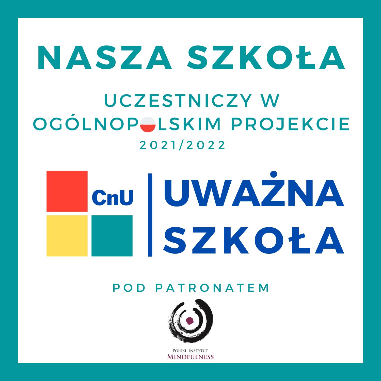 Logo projektu Uważna Szkoła